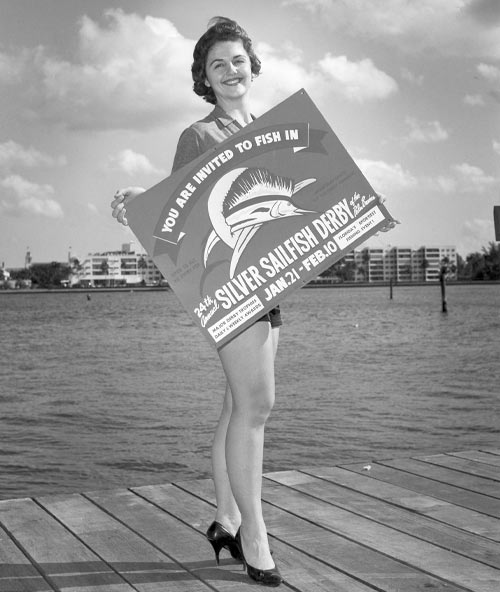 1961 Silver Sailfish Derby Promotional Photo