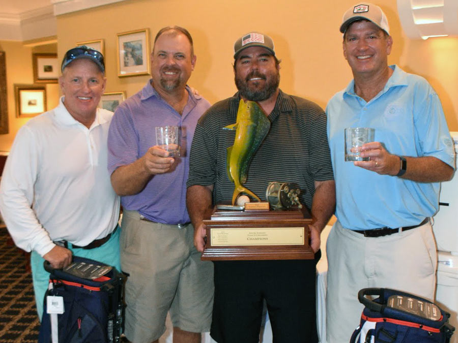 winning fins and feathers team with prizes
