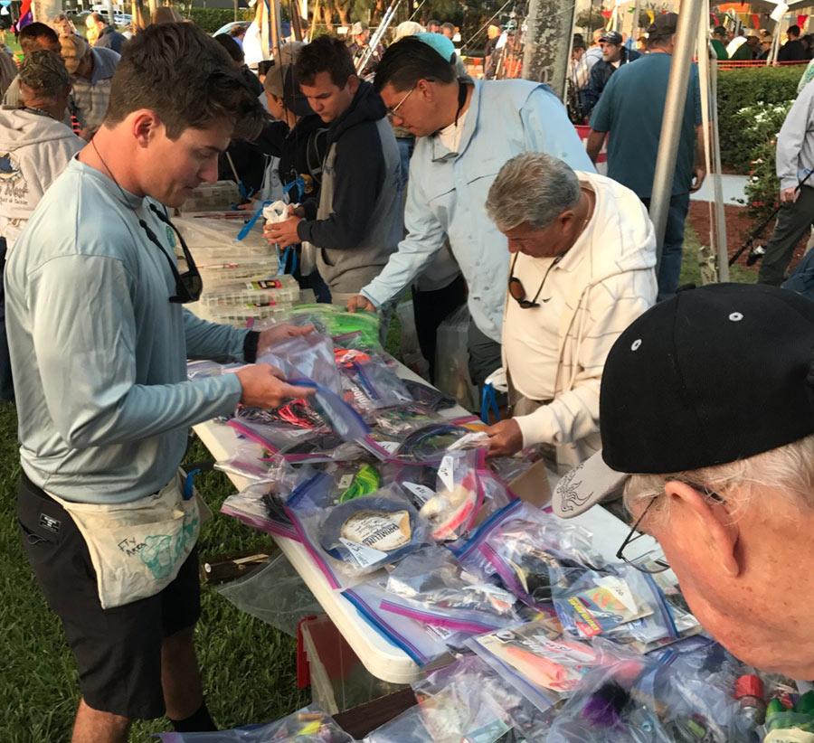 fishing yard sale