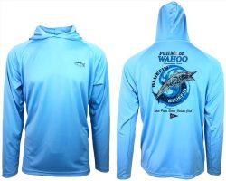 Full Moon Wahoo Series Hooded Dry Fit Shirt (Long Sleeve)